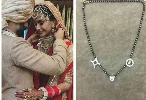 You will be shocked after knowing the price of Sonam Kapoor's Wedding Ring & Details Of Her Mangalsutra