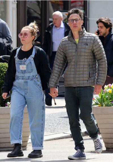 ZACH BRAFF, 44, IS DATING FLORENCE PUGH, 23
